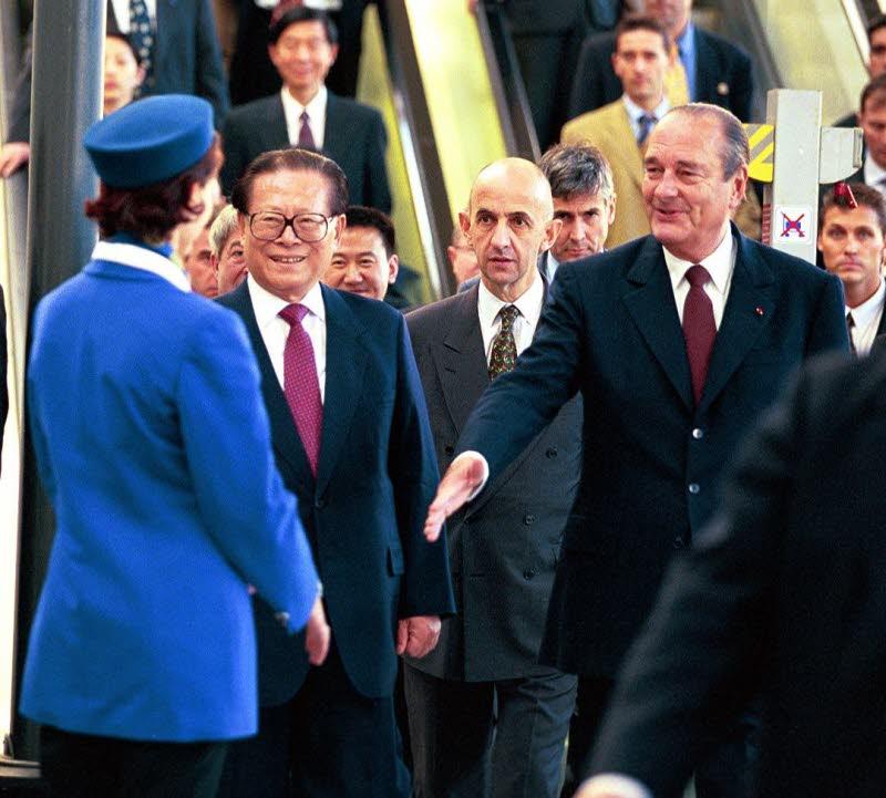 Chirac et Jiang 2