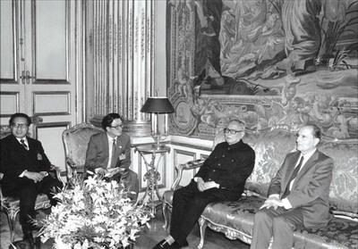 Mitterrand et Li