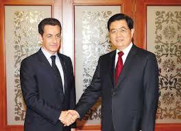 Sarkozy et Hu 2