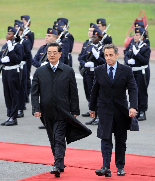 Sarkozy et Hu 4