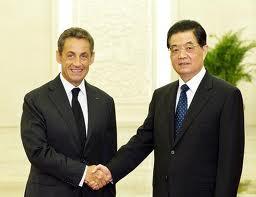 Sarkozy et Hu 5