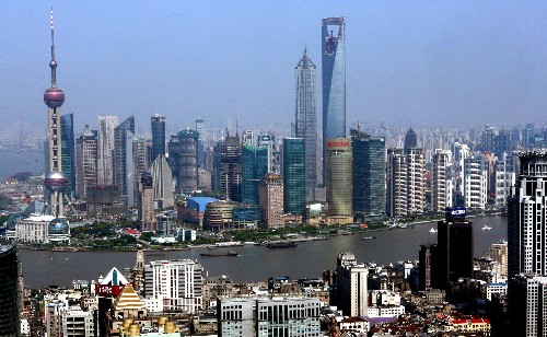 Shanghai Pudong area