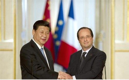 Visite de XI Jinping en France