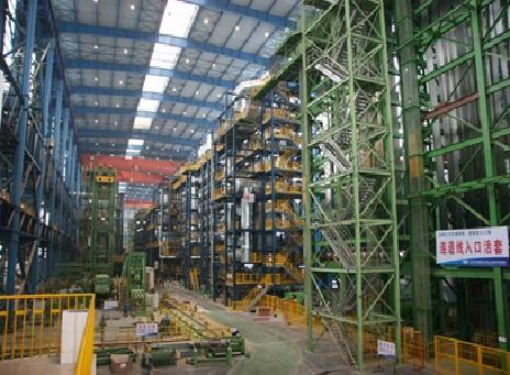 武钢生产线