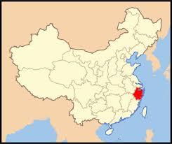 Zhejiang carte Chine
