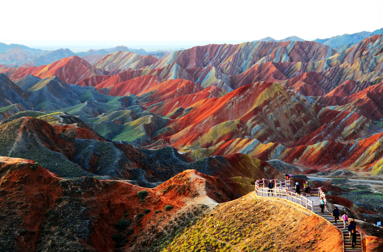 Paysage du Gansu